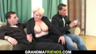 Grandmother son sex vids - Picked up blonde grandmother double penetration