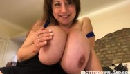 Teen amature ovies Teen with huge boobs posing on webcam her bra collection