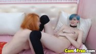 Free emo lesbian vieos Emo lesbians finger fuck and eats each other pussies