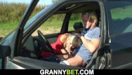 Free wet old granny cunt galleries - Picked up old granny gets her hairy cunt fucked