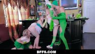 Slut day - Bffs - three sluts suck dick on st. pattys day