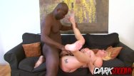 Shove a tube up your ass Busty blonde babe paris sweet shoves a big black cock up her ass