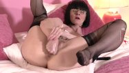 Females fisting solo Ffstockings - fist and panty stuffing