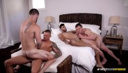 Gay studios mustang college rooms - Peeping college bros initiate bb 4way with friends they caught fucking