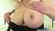 Exposed mature woman British milf kat exposes her shaven fanny