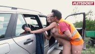 Teen community service project - Letsdoeit - helpless teen francis belle exchanges pussy for car service