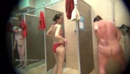 Wonderful milf striptease - If you have ever wondered what the girls are doing in the shower room: here