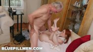 Blue fucking frankie foster Blue pill men - old guys frankie and duke play with redhead dolly little