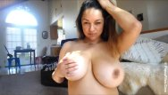 Your file host homemade sex - Monica mendez birthday show with her giant tits in focus webcam