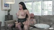 Milf black hair Big ass and big tit black hair babe with brooke beretta gets fucked hard