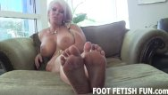 Foot domination video clips Pov foot fetish and female domination videos