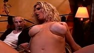 Boobs at hooters club - Bbc for big boob blonde wife