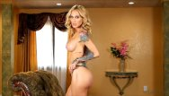 Pleasure by yourself - Indulge yourself into fantasy with sarah jessie slides down her lingerie