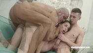 Tricked into gangbang Shadyproducer - young czech couple tricked into first threesome
