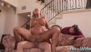 Inner penetration Horny housewife angela aspen unleashes her inner slut for cuckold to see