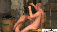 Twink bdsm dvd Bdsm maledom lets restrained sub suck his big cock