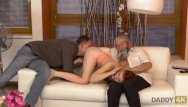 Father tells son about masturbation Daddy4k. son joins dirty sex actof his girlfriend and lustful father
