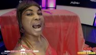 Xxx extreme mouthful - Black babe mimi gets her mouth full of cum - extreme bukkake