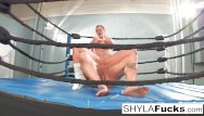 Free mma fist artwork - Sexy shyla stylez gets some lessons on mma training but then gives a lesson