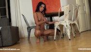 Iryna naked Iryna - pose on a chair czechcheeks