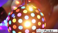 Alisons huge hungarian boobs - Sexy big boobed disco ball babe alison tyler