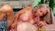 Sexy at any age men Gilf super sexy pleasures a younger lover with her mouth and aged pussy
