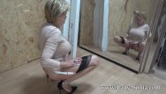 Lady night strip Lady sonia strips nude and touches herself