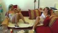 Twin sexy nude babes - Twins threesome