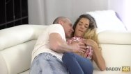 Sex older man Daddy4k. brilliant girl monique woods has passionate sex with older man