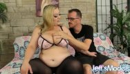 Barb dreams of a huge cock - Plumper bunny de la cruz and her huge jugs make skinny bfs dreams come true