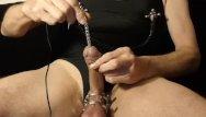 Penis uretral stimulation - Kinky urethral fucking masoslut e-stim