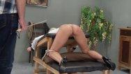 Video spank cane Lolas caning 2103