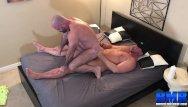 Raymond burs gay Breedmeraw burly stud bishop angus jerks off before bareback