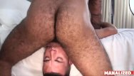 Gay pesar rasht Manalized josh stone cums hard while latino daddy fucks him