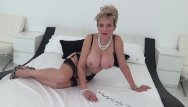 Black jerking off shemale More jerk off instructions from busty mature lady sonia