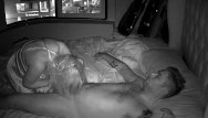 Markham asian nights - Blonde milf night vision hidden cam riding