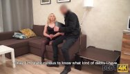 Vintage estate furniture Debt4k. blonde hairdresser wants to buy furniture so why should fuck