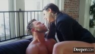 Domination chatrooms Deeper. seth submits to dominant boss angela white