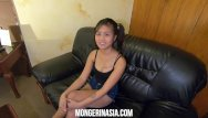 Job survey and teen Innocent filipina teen maid will do anything for a job