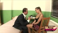 Homade a sex toy Busty schoolgirl rose dildo fucked and blowjobs