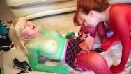 Xxx ecchi Redhead milf red gets fucked by a strapon