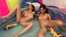 Nelly and Nikita making first experiences