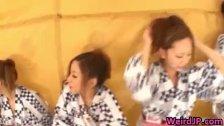 Crazy Japanse orgie
