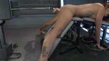 Sexy Felony violated by fucking machines