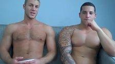 Andrew Jakk and Raphael Cedano