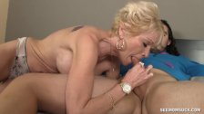 topless granny pics
