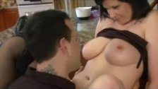 Mum and dad having real sex in the kitchen