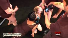 Blonde Meli and Brunette Conny are crazy for