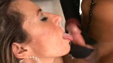 Shemale Bareback Sex With Cum Dripping Hard F