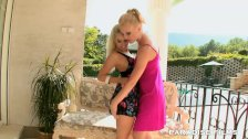 PARADISE FILMS Gorgeous Blonde Lesbians in th